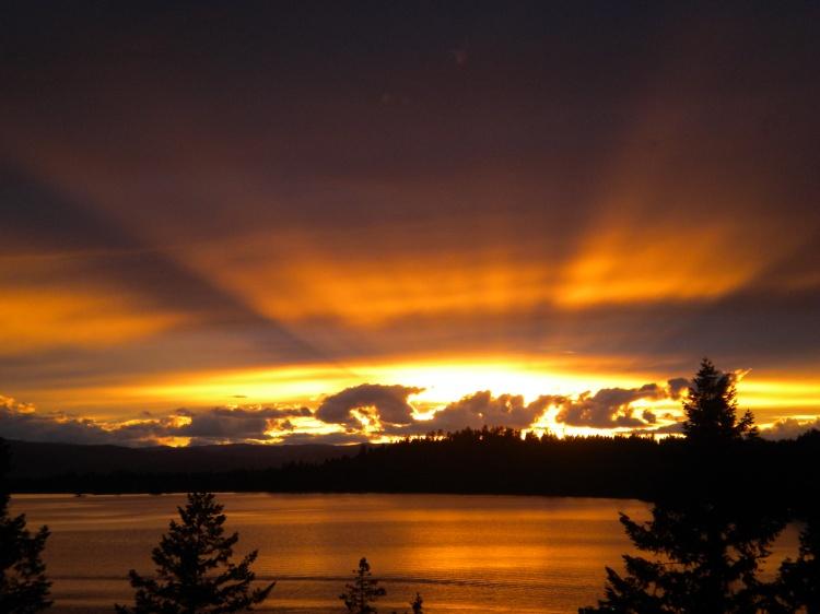 July Sunset - 4