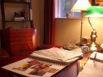 Leslie's desk