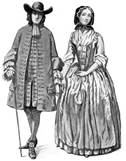 Colonial couple