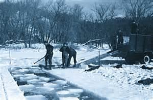 Harvesting ice.2