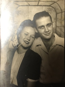 Betty and Alton Aug. 1947